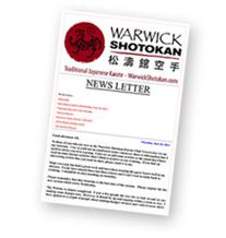 The Warwick Shotokan Karate Club - 215-510-9390
